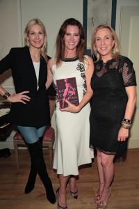 Kelly Rutherford, Leslie Zemeckis, Susan Rockefeller