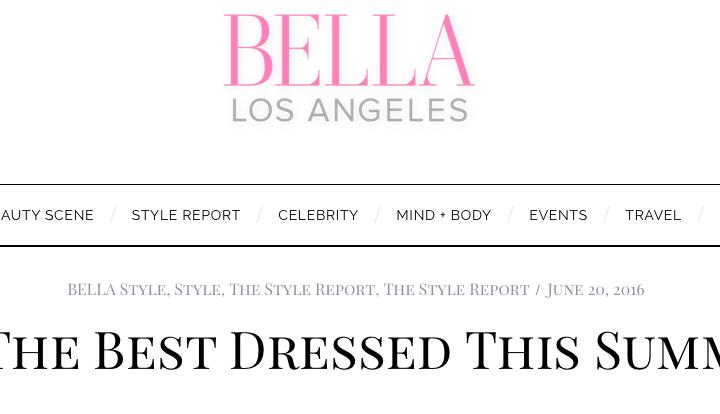 BELLA LA: Best Dressed Guest
