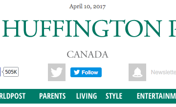 Huffington Post Canada posts #3 and #4