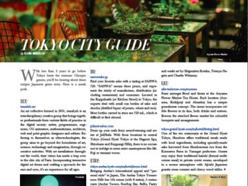 Tokyo City Guide: RESIDENT Magazine
