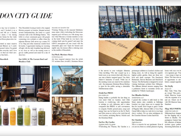 London City Guide: RESIDENT Magazine