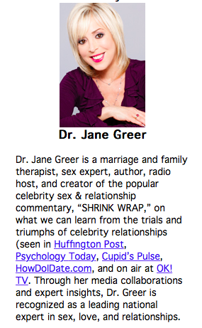 Radio Interview with Dr. Jane Greer